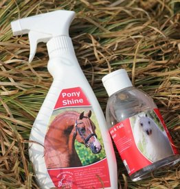 Ponyweb combination mane & tail conditioner & coatshine