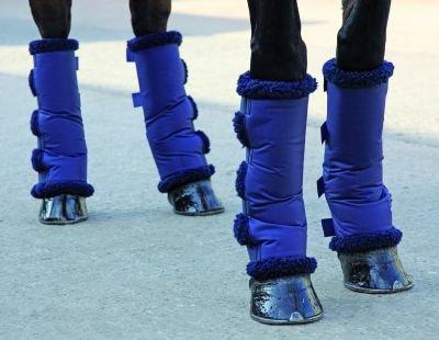 Travel boots fleece lining
