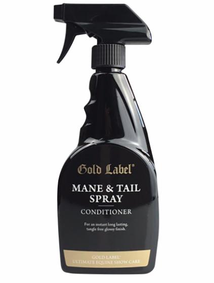 Gold Label Verzorgende glansspray /manen en staart conditioner