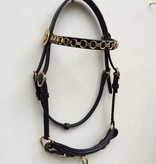 "Ponytrends Show bridle leather ""chain"""