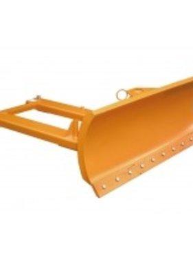 Schneeschild für Stapler mit Stahlschürfleiste