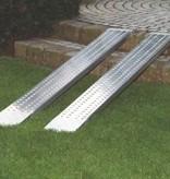 Auffahrrampe faltbar aus Aluminium Breite 200 mm