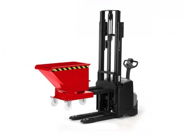 Kastenwagen für Hochhubwagen und Deichselstapler