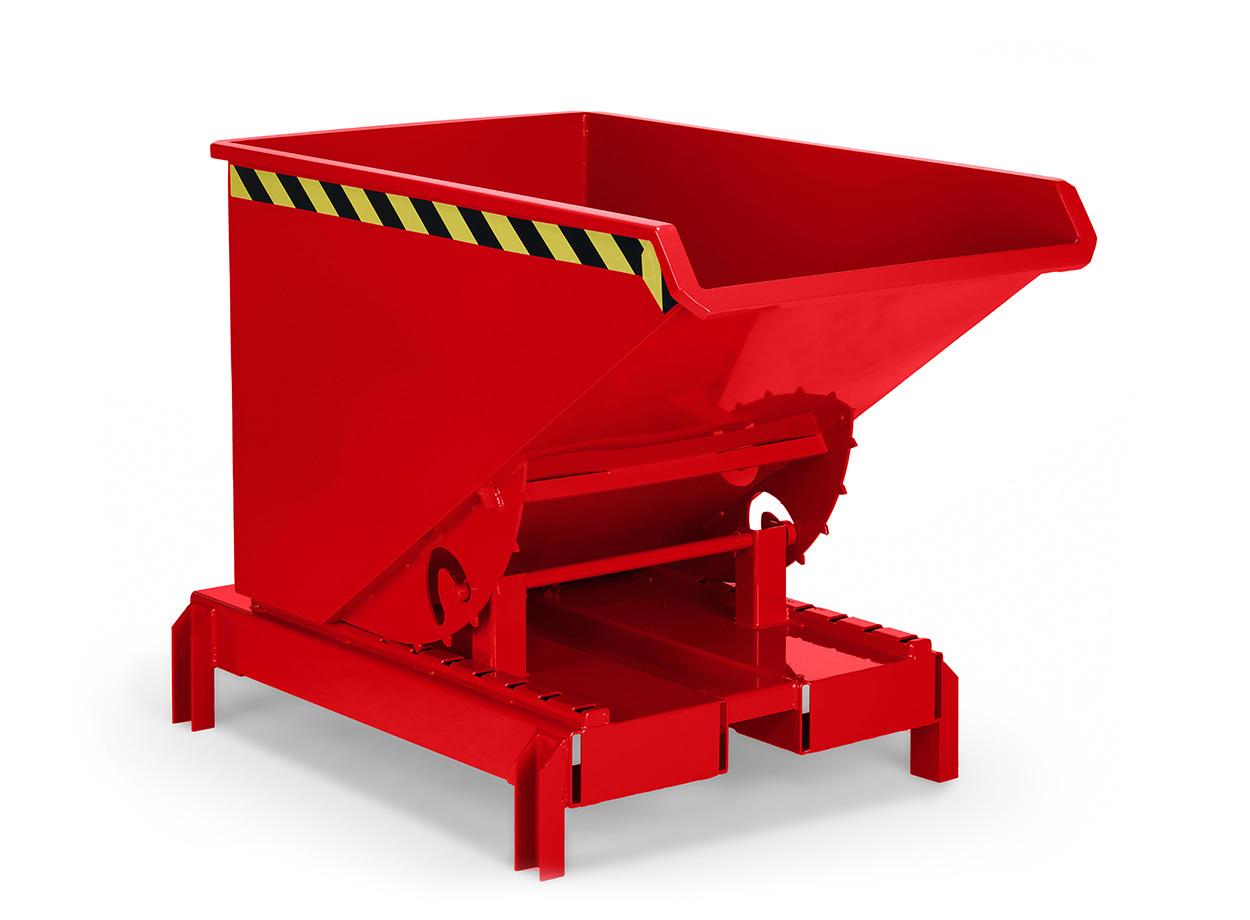Kippbehälter für Hochhubwagen und Deichselstapler