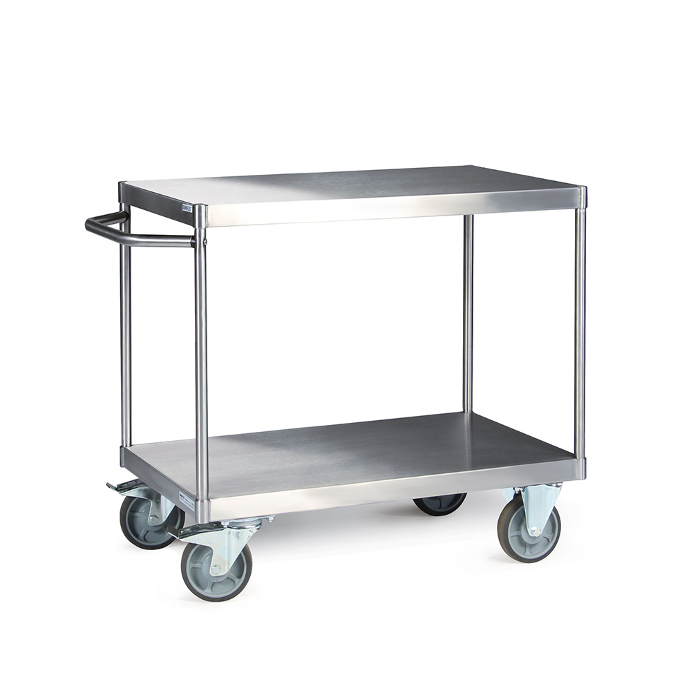 Tischwagen 600 kg aus Edelstahl