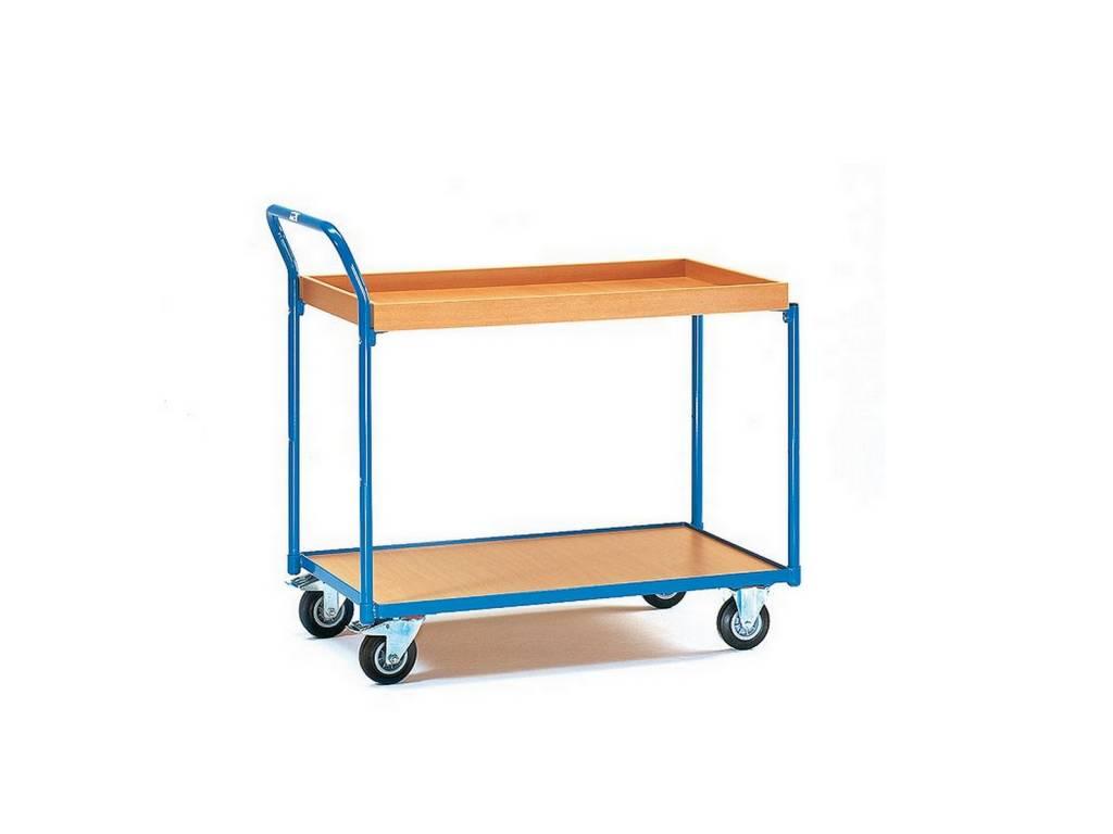 Etagenwagen mit Kasten und 1 Boden