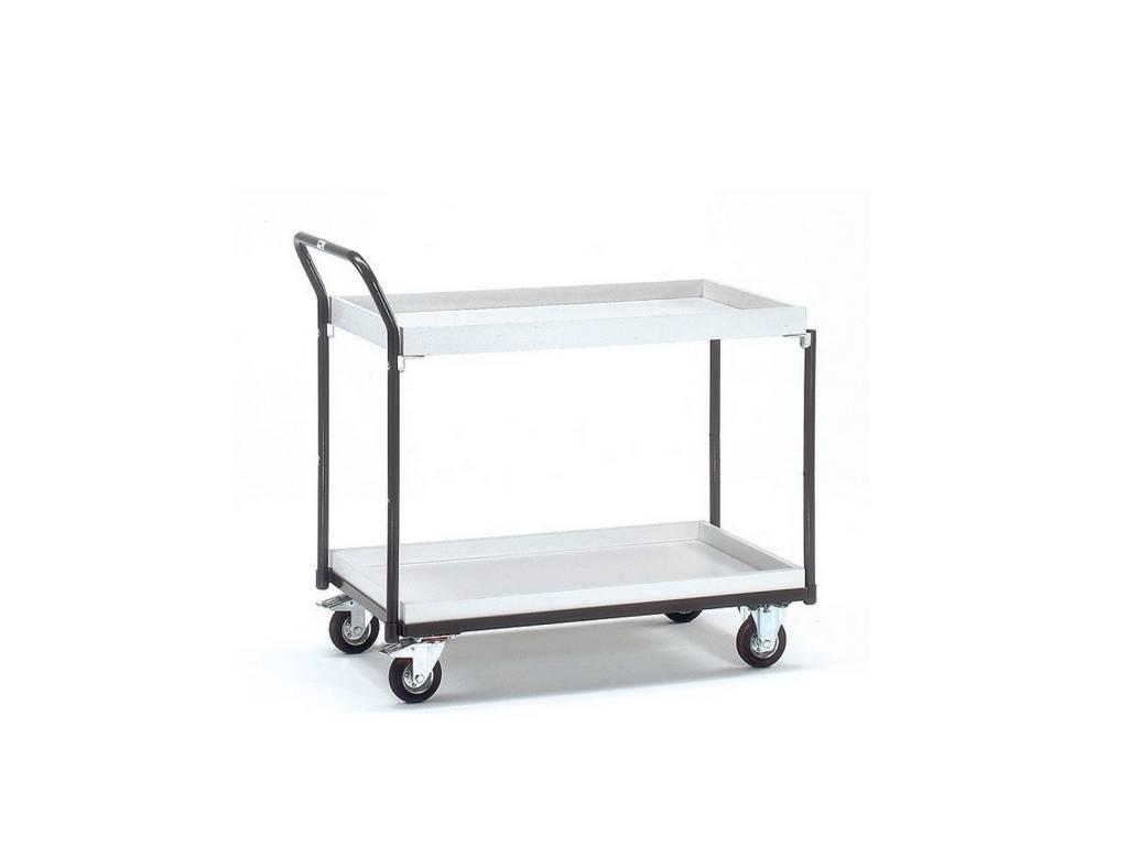 ESD-Tischwagen 250 Kg mit Kästen