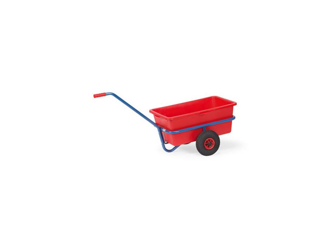 Handwagen mit Kunststoffmulde ohne Ladefläche