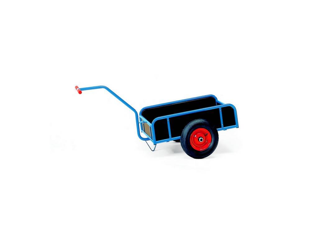Handwagen mit 4 Wänden 1 Achse