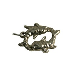 Cuenta DQ fish jewelry pendant 20mm