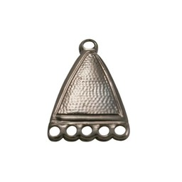 Cuenta DQ verbinder eloxal Anhanger & Charms 5 osen antikes Kupfer Farbe