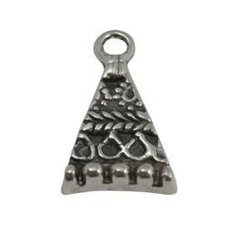 Cuenta DQ Hangertje driehoek  28x16mm zilverkleur