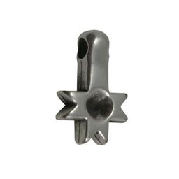 Cuenta DQ Hangertje puntjes zilverkleur