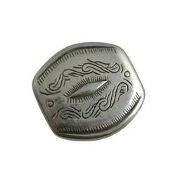 Cuenta DQ rivet 28x29mm silver plating
