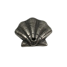 Cuenta DQ pendent Shell zilver silver plating