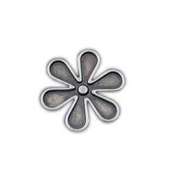 Cuenta DQ rivet flower 30mm