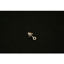 Cuenta DQ sieraden hanger keltisch 7mm zilverkleur