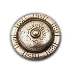 Cuenta DQ Rivet rond nippel 30mm zilverkleur