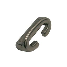 Cuenta DQ Metaal alfabet 13mm letter: C