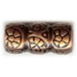 Cuenta DQ Metaal Kraaltje brons kleur.