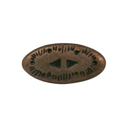 Cuenta DQ Rivet western 2-delig brons kleur.