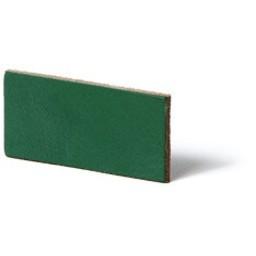 Cuenta DQ Plat leer 13mm  Groen  13mmx85cm
