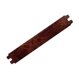Cuenta DQ wristband leather 29mmx16,5cm buff brow  shine finish