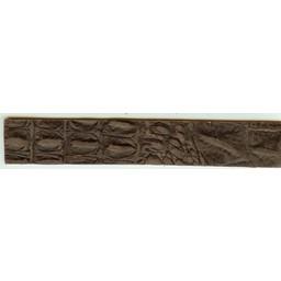 Cuenta DQ wristband leather brown crocodile print 18cmx29mm