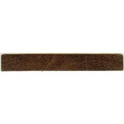 Cuenta DQ leerband bruin spotty 14cmx18mm