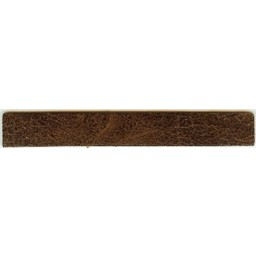 Cuenta DQ wristband leather brown spotty 14cmx18mm