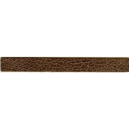 Cuenta DQ wristband leather brown spotty 18cmx19mm
