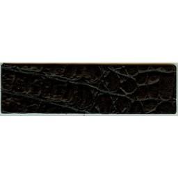 Cuenta DQ schwarz Kroko Lederarmband 14.5cmx50mm