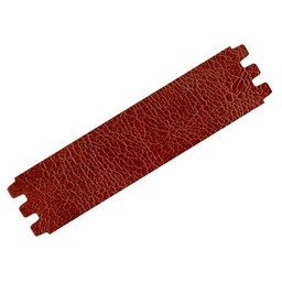 Cuenta DQ bracelet strap leather crackle brown 39mmx18.5cm medium size