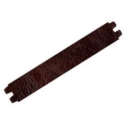 Cuenta DQ bracelet strap leather crackle dark brown 29mm medium size