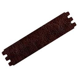 Cuenta DQ bracelet strap leather crackle dark brown 39mmx18.5cm M