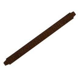 Cuenta DQ medium.brown Knistern Lederarmband  13mm M