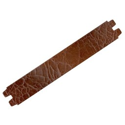 Cuenta DQ medium.brown Knistern Lederarmband  29mm