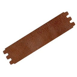 Cuenta DQ bracelet strap leather crackle medium.brown 39mmx18.5cm medium size