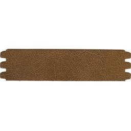 Cuenta DQ leather belt crack medium brown 44mmx18.5cm M