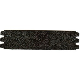Cuenta DQ bracelet strap leather crackle black 44mmx18.5cm medium size