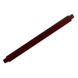 Cuenta DQ bracelet strap leather dark brown 13mm medium size