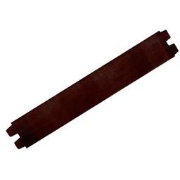 Cuenta DQ bracelet strap leather dark brown shine finish 29mm