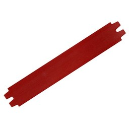 Cuenta DQ leerband donker rood 29mm