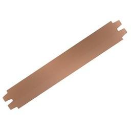 Cuenta DQ leerband licht bruin 29mm