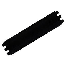 Cuenta DQ bracelet strap leather black 39mmx18.5cm medium size