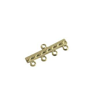 Cuenta DQ verbinder 4 osen 23mm Goldfarbe