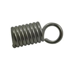 Cuenta DQ Lederband end Spirale 4mm versilberd