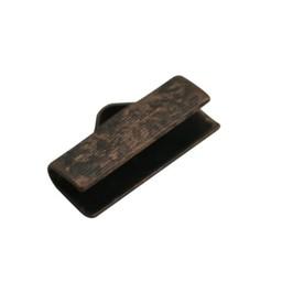 Cuenta DQ Stoffbandklemmen bewerkt antikes Kupfer Farbe