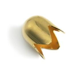 Cuenta DQ sieraden kapje goudkleurig opening 16mm