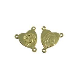 Cuenta DQ splitser rozenkrans 12mm goudkleurig